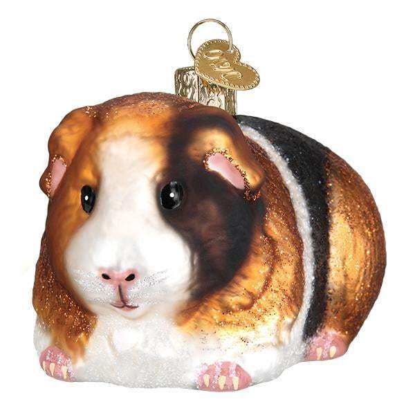 Guinea Pig 12542 Old World Christmas Ornament