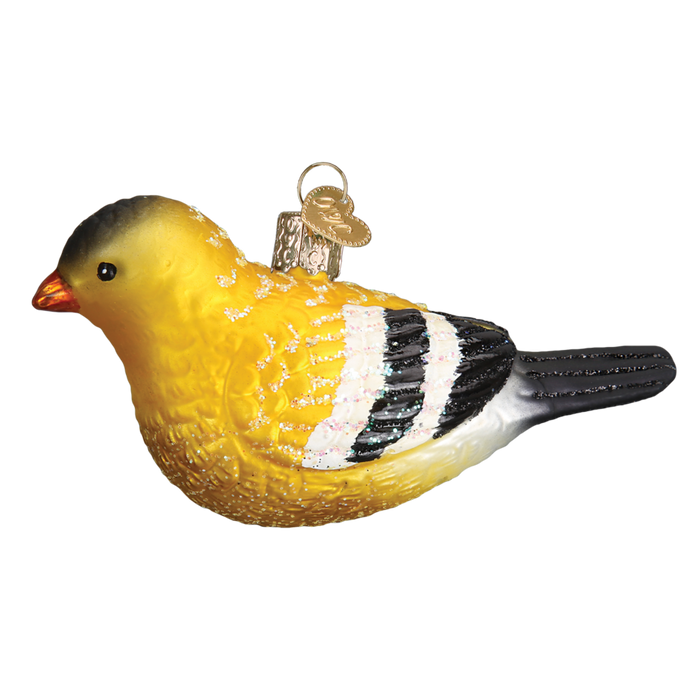 American Goldfinch 16111 Old World Christmas Ornament