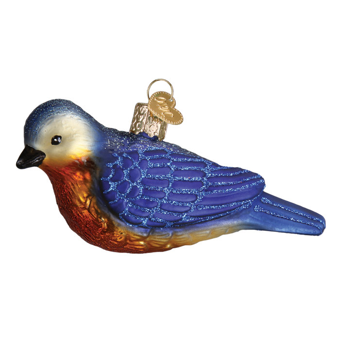 Western Bluebird 16112 Old World Christmas Ornament