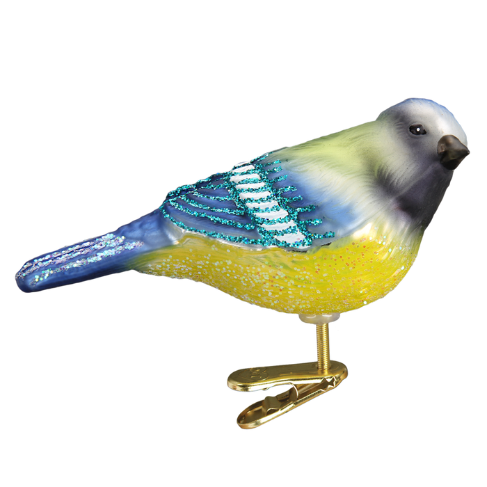 Blue Tit 18125 Old World Christmas Ornament