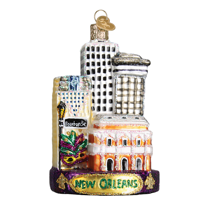 New Orleans 20089 Old World Christmas Ornament