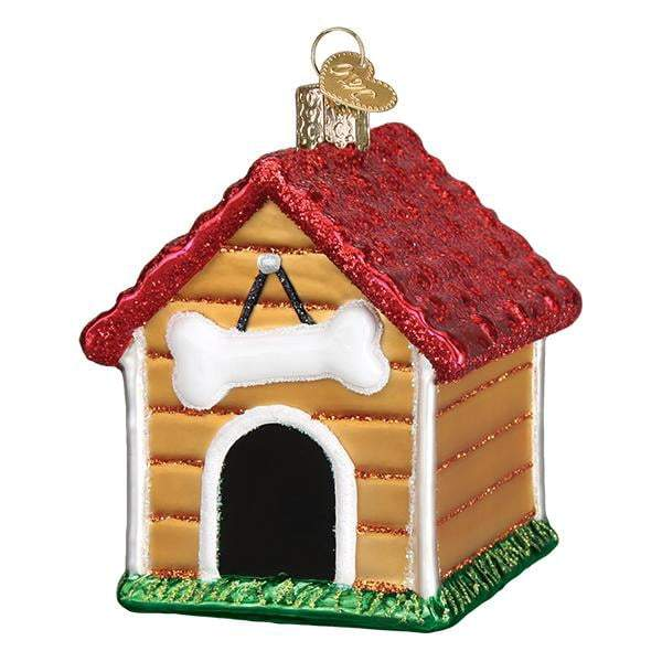 Dog House 20113 Old World Christmas Ornament