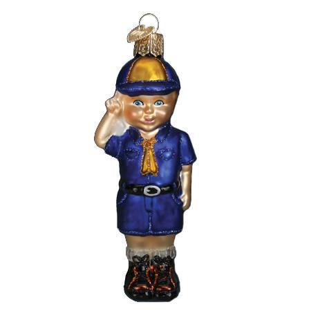 Lil' Scout 24147 Ornament Old World Christmas