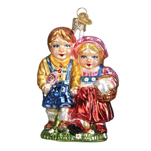 Hansel and Gretel 24168 Old World Christmas Ornament
