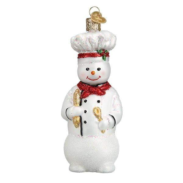 Snowman Chef 24184 Old World Christmas Ornament