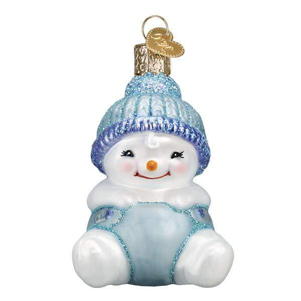 Snow Baby Boy 24190 Old World Christmas Ornament