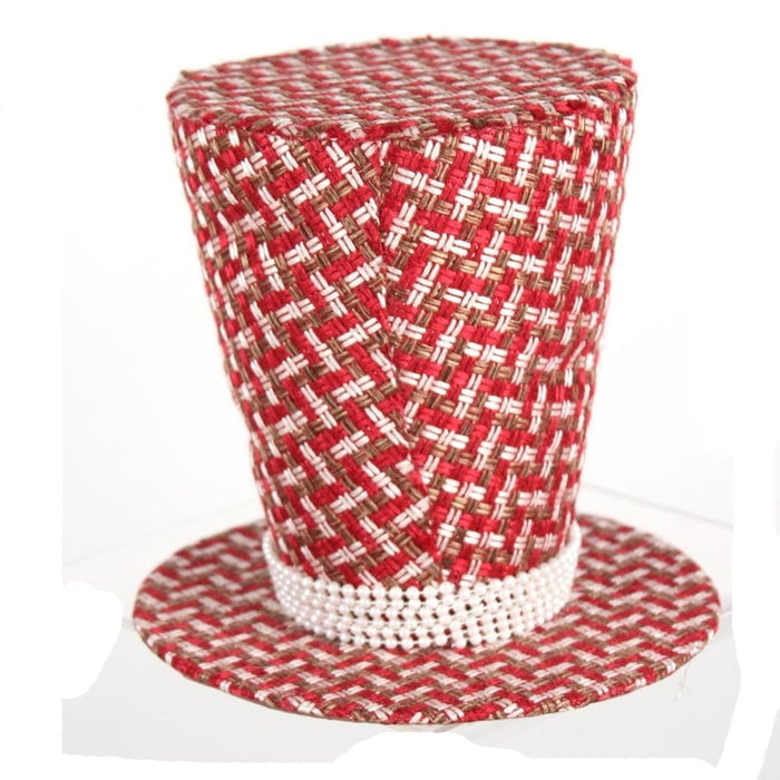 "7"" Woven Top Hat Table Decoration"