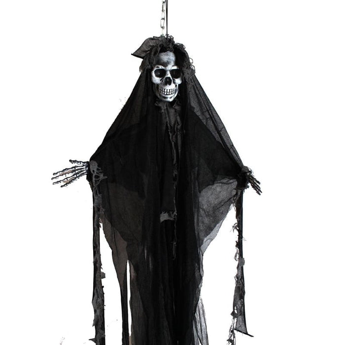 "36"" Hanging Skeleton Halloween Decoration"