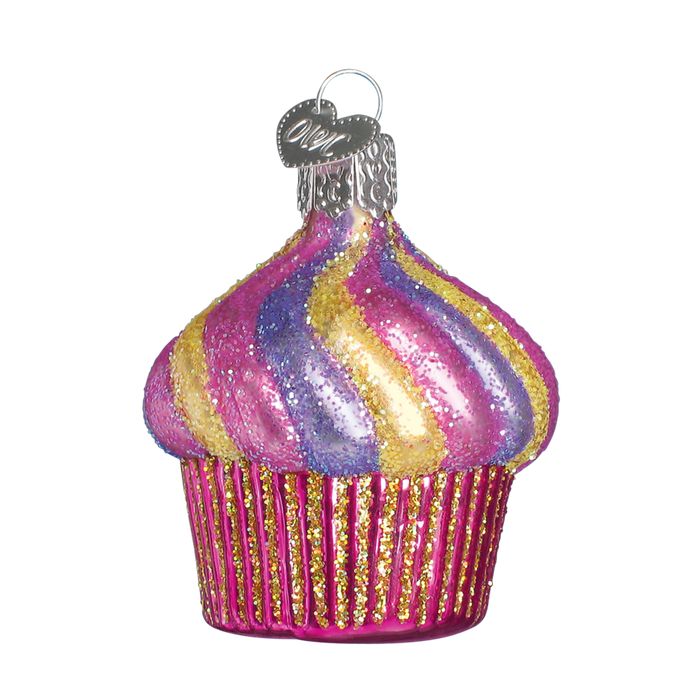 Cupcake 32043 Old World Christmas Ornament