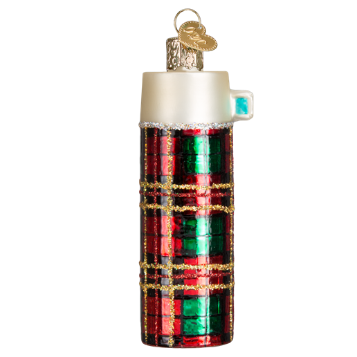 Retro Thermos 32222 Old World Christmas Ornament