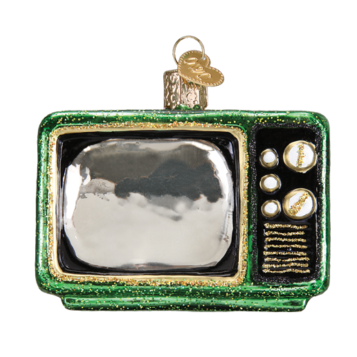 Retro Tube TV 32253 Old World Christmas Ornament