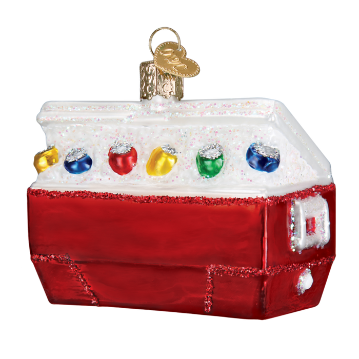 Ice Chest Old World Christmas Ornament 32335