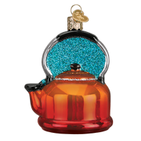 Tea Kettle 32349 Old World Christmas Ornament