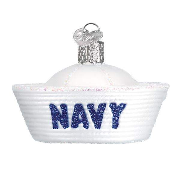 Navy Cap Old World Christmas Ornament