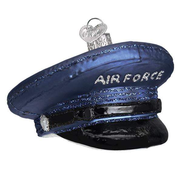 Air Force Cap 32379 Old World Christmas Ornament