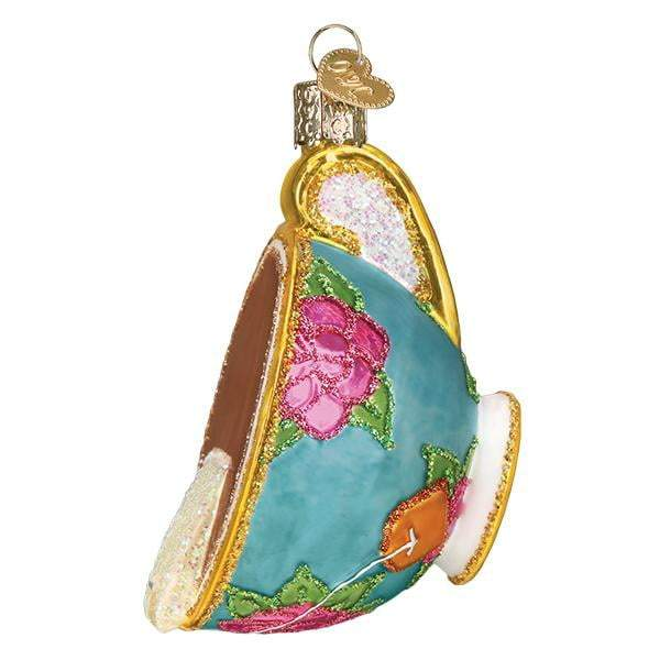 Cup of Tea 32393 Old World Christmas Ornament