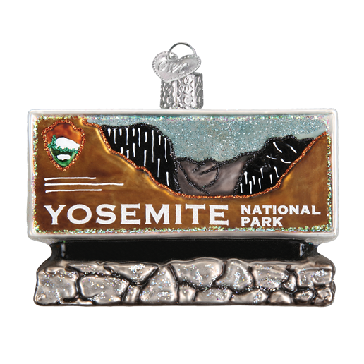 Yosemite National Park 36172 Old World Christmas Ornament