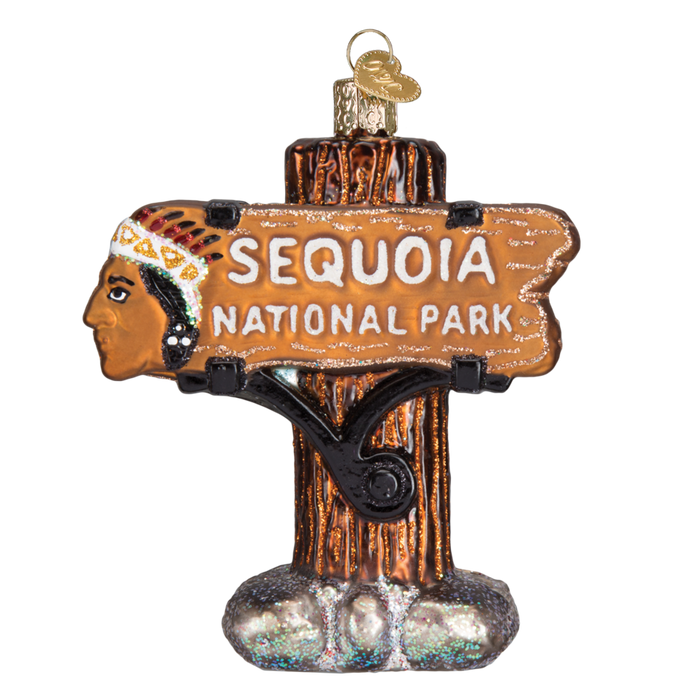 Sequoia National Park 36176 Old World Christmas Ornament