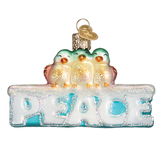 Peace Old 36178 World Christmas Ornament