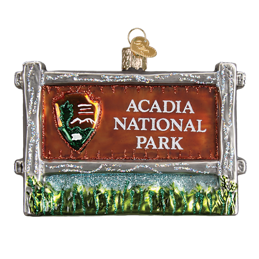 Acadia National Park 36190 Old World Christmas Ornament