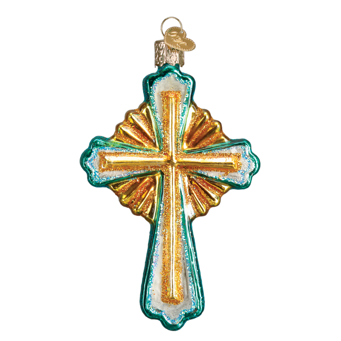 Divine Cross 36215 Old World Christmas Ornament