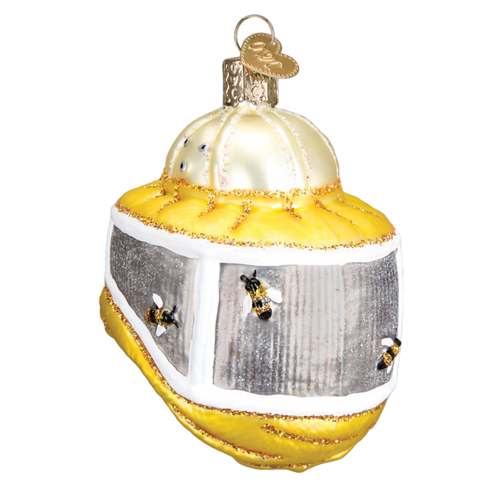 Beekeeper's Hood 36227 Old World Christmas Ornament