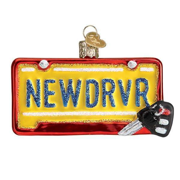 New Driver 36260 Old World Christmas Ornament