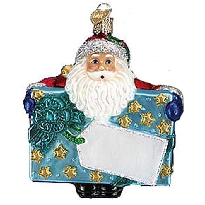 Special Delivery Santa 40170 Old World Christmas Ornament Assorted
