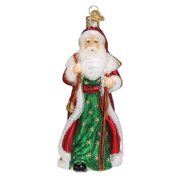 Father Christmas with Bells 40307 Old World Christmas Ornament