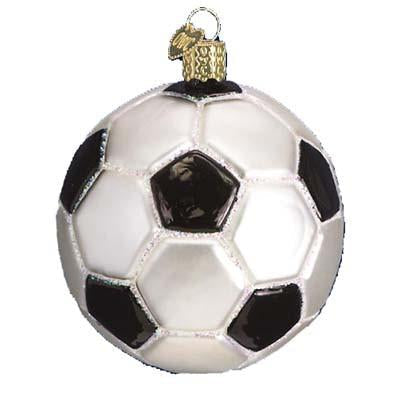 Soccer Ball 44012 Old World Christmas Ornament