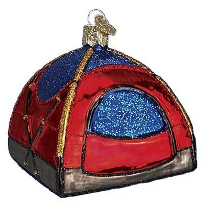 Dome Tent 44056 Merck Family Old World Christmas Ornament