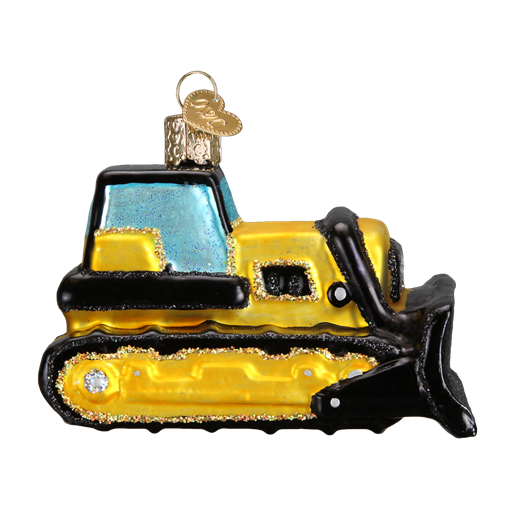 Toy Bulldozer 44086 Old World Christmas Ornament
