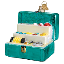 Tackle Box 44123 Old World Christmas Ornament