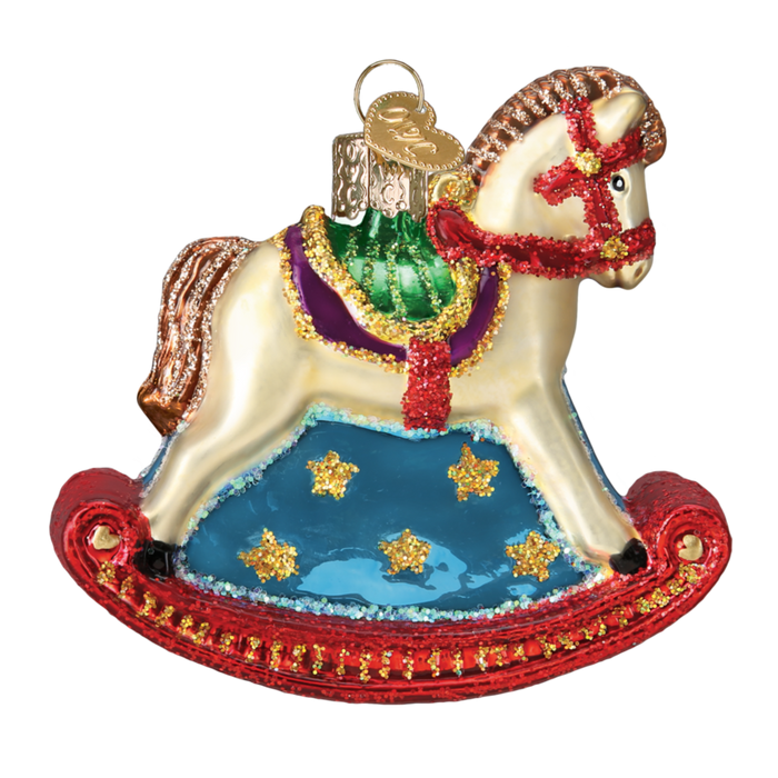 Rocking Horse 44133 Old World Christmas