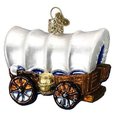 Covered Wagon 46012 Old World Christmas Ornament