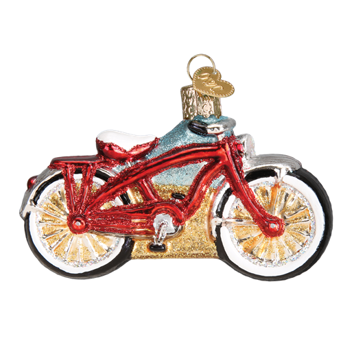 Cruiser Bike 46063 Old World Christmas Ornament