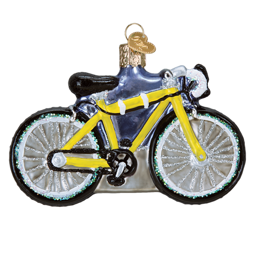 Road Bike 46067 Old World Christmas Ornament