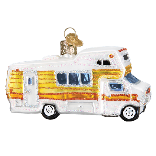 Classic Motorhome 46069  Old World Christmas Ornament