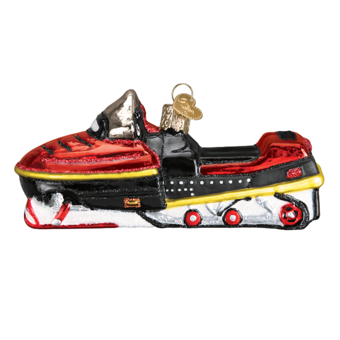 Snowmobile 46074 Old World Christmas Ornament