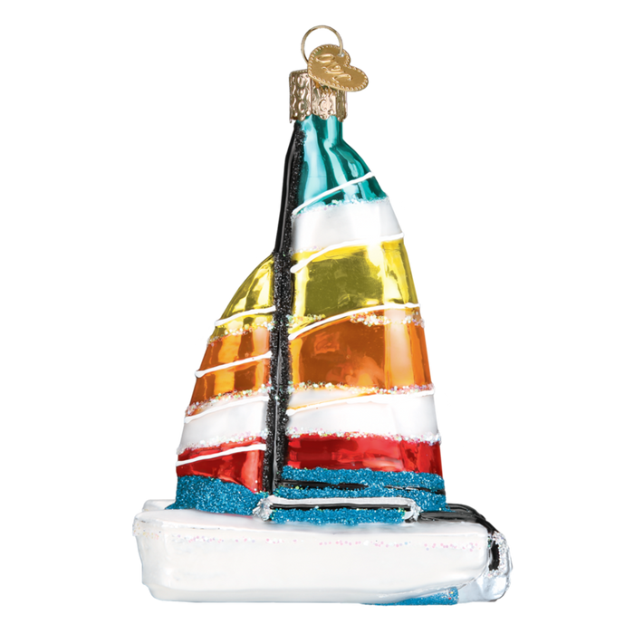 Catamaran 46077 Old World Christmas Ornament