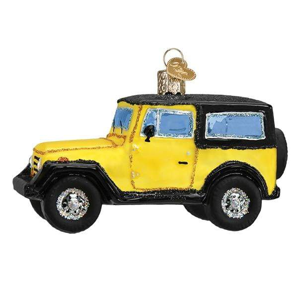Sport Utility Vehicle 46083 Old World Christmas Ornament