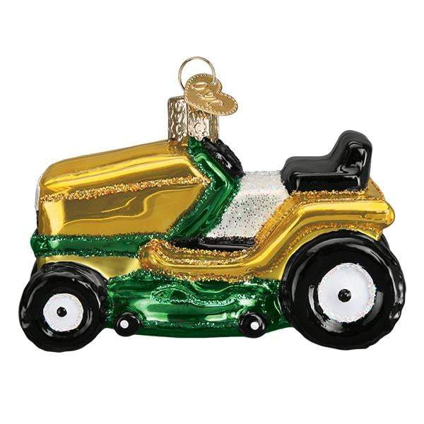 Riding Lawn Mower 46085 Old World Christmas Ornament