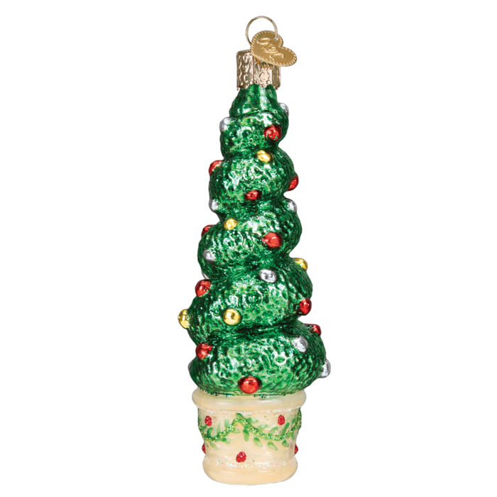 Holiday Topiary 48040 Old World Christmas Ornament