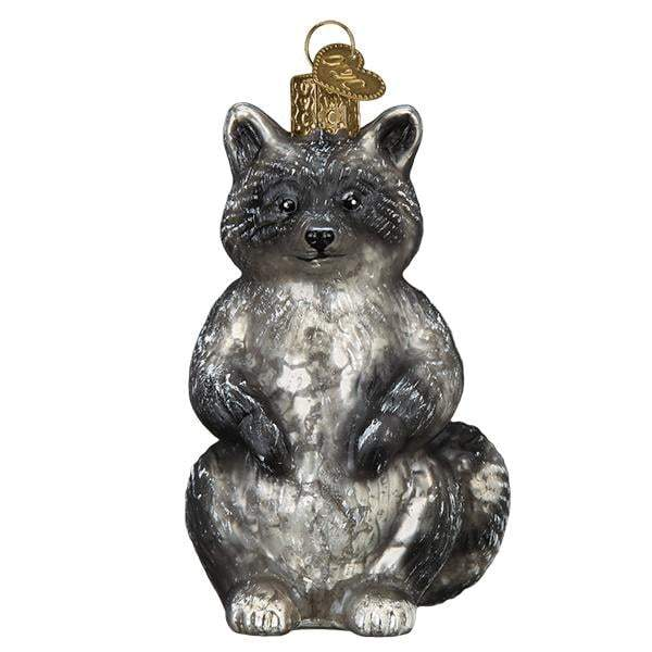 Vintage Raccoon 51010 Old World Christmas Ornament