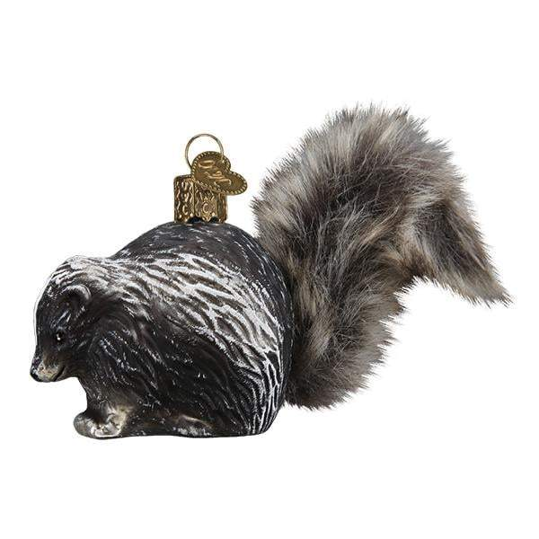 Vintage Skunk 51011 Old World Christmas Ornament