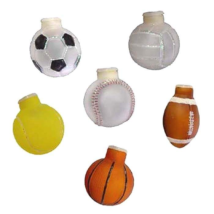 Sports Ball Light Cover Set of 6 52044 Old World Christmas
