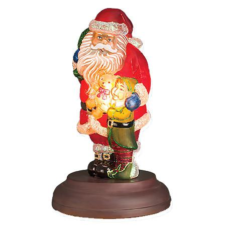 Santa's Bright Eyed Buddy 529771 Old World Christmas 2015 Annual Light