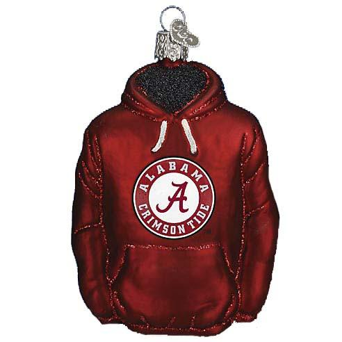 Alabama Hoodie 60103 Old World Christmas Ornament