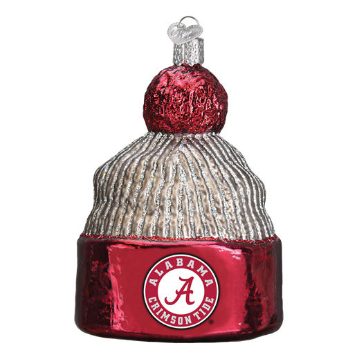 Alabama Beanie Stocking Cap Old World Christmas Ornament 60114