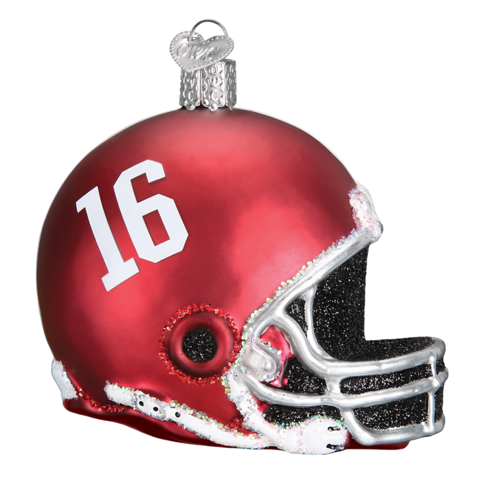 Alabama Helmet 60117 Old World Christmas Ornament